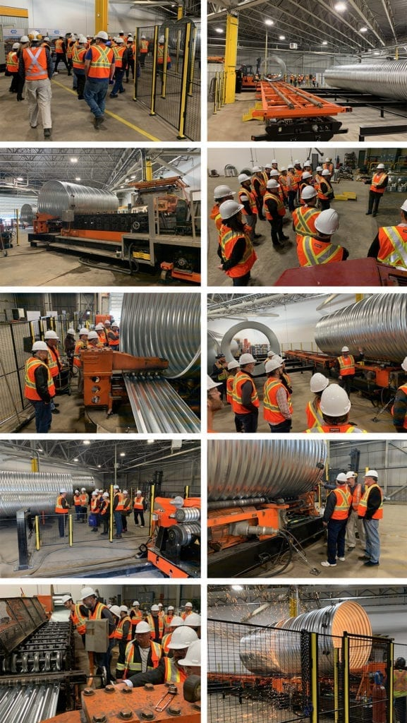 Guided tours at AIL Kenora Open House